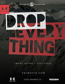 <入荷>SALE OFF!新品Blu-ray!【スキー】 DROP EVERYTHING [Blu-ray/DVD]!【2017/2018新作】<MSP films>