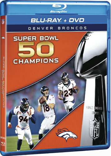 SALE OFF!新品Blu-ray!【NFL第50回スーパーボウル】 NFL Super Bowl 50 Champions [Blu-ray]!