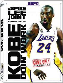 SALE OFF!新品DVD!Kobe Doin' Work: A Spike Lee Joint!