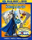 SALE OFF!新品北米版Blu-ray!【メガマインド】Megamind (Blu-Ray/DVD)