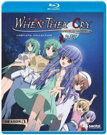 新品北米版Blu-ray!【ひぐらしのなく頃に礼(第3期)】全5話!