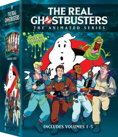 SALE OFF!新品北米版DVD!【リアル・ゴーストバスターズ:コンプリート・シリーズ】 The Real Ghostbusters: The Animated Series Volumes 1-5!