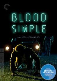 新品北米版Blu-ray!【ブラッドシンプル ザ・スリラー】 Blood Simple (The Criterion Collection) [Blu-ray]!<コーエン兄弟>