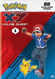 SALE OFF!新品北米版DVD!Pokemon the Series: XY Kalos Quest Set 1!<ポケットモンスター XY【1】第1話〜第22話><英語音声>
