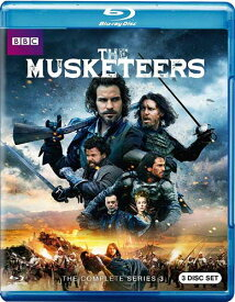 新品北米版Blu-ray!【マスケティアーズ/三銃士:シーズン3】 The Musketeers: Season 3 [Blu-ray]!