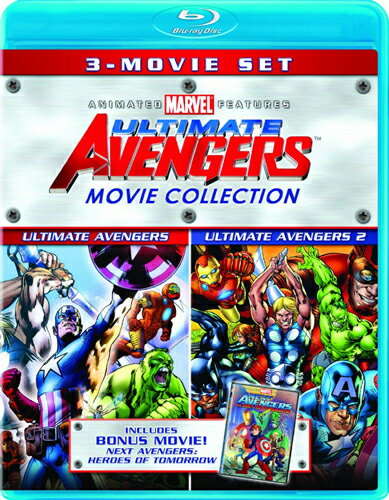 SALE OFF!新品北米版Blu-ray!【アベンジャーズ】 Ultimate Avengers Movie Collection (Ultimate Avengers / Ultimate Avengers 2 / New Avengers: Heroes of Tomorrow) [Blu-ray]!