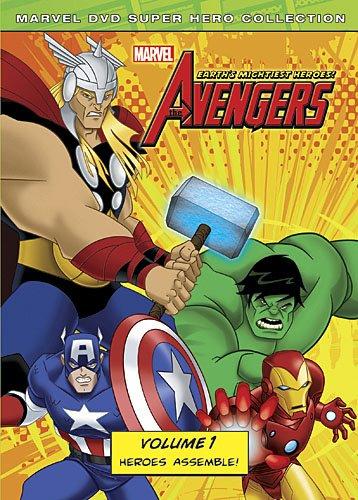 SALE OFF!新品北米版DVD!【アベンジャーズ 地球最強のヒーロー】 【1】!(Avengers: Earth's Mightiest Heroes 1)