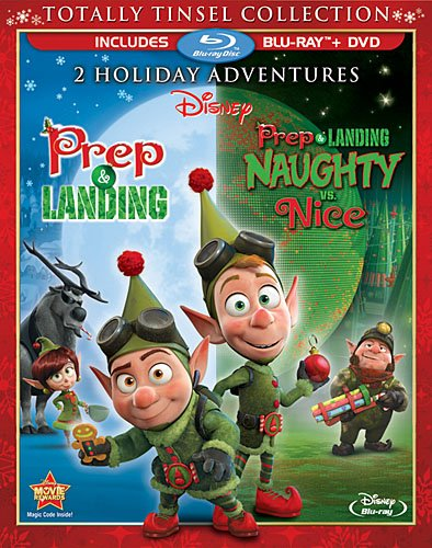 SALE OFF!新品北米版Blu-ray!【ウェイン&ラニー クリスマスを守れ!】 Prep & Landing: Totally Tinsel Collection [Blu-ray/DVD Combo]!