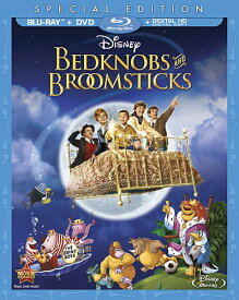 SALE OFF!新品北米版Blu-ray!【ベッドかざりとほうき】 Bedknobs And Broomsticks: Special Edition [Blu-ray/DVD]!<初ブルーレイ化>