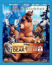 SALE OFF!新品北米版Blu-ray!『ブラザー・ベア』+『ブラザー・ベア 2』 Brother Bear / Brother Bear 2 [Blu-ray/DVD]!<初ブルーレイ化>