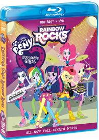SALE OFF!新品北米版Blu-ray!【マイリトルポニー】 My Little Pony Equestria Girls: Rainbow Rocks [Blu-ray/DVD]!