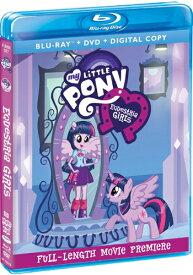 SALE OFF!新品北米版Blu-ray!【マイリトルポニー Equestria Girls】 My Little Pony: Equestria Girls [Blu-ray/DVD]!