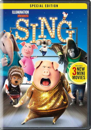 SALE OFF!新品北米版DVD!【SING/シング】 Sing - Special Edition!