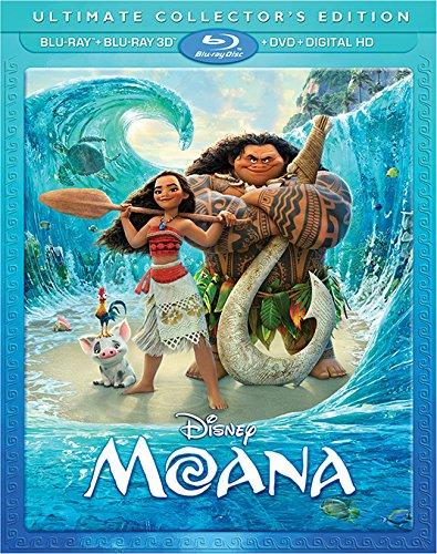 SALE OFF!新品北米版Blu-ray 3D!【モアナと伝説の海 3D】 Moana [Blu-ray 3D/Blu-ray/DVD]!<ディズニー>