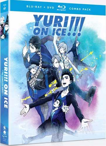 ■予約■新品北米版Blu-ray!【ユーリ!!! on ICE】 全12話!