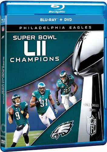 SALE OFF!新品Blu-ray!【NFL第52回スーパーボウル】 NFL Super Bowl 52 Champions - Philadelphia Eagles [Blu-ray/DVD]!