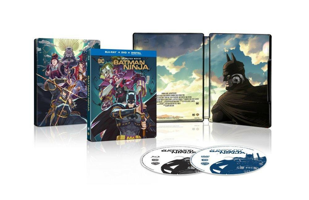 新品北米版Blu-ray!【ニンジャバットマン】Batman Ninja [Blu-ray/DVD] Steelbook<スティールブック仕様>
