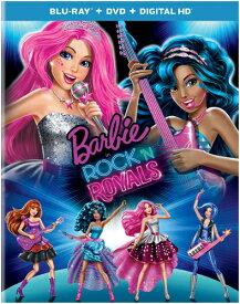 SALE OFF!新品北米版Blu-ray!Barbie in Rock 'N Royals [Blu-ray/DVD]!<バービー>