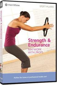 【STOTT PILATES DVD】 STRENGTH & ENDURANCE: MATWORK WITH PROPS