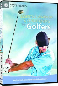 【STOTT PILATES DVD】 ESSENTIAL WARM UP & CONDITIONING FOR GOLFER