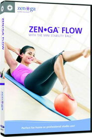 【STOTT PILATES DVD】 ZEN GA FLOW: WITH THE MINI STABILITY BALL