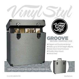Vinyl Styl Groove Record Carrying Case<レコードキャリングケース(LP約30枚収納)>
