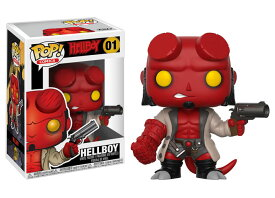 [FUNKO(ファンコ)] FUNKO POP! COMICS: Hellboy - Hellboy w/ Jacket <ヘルボーイ>