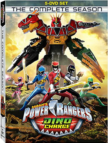 SALE OFF!新品北米版DVD!【パワーレンジャー・ダイノチャージ】 Power Rangers: Dino Charge - The Complete Season!