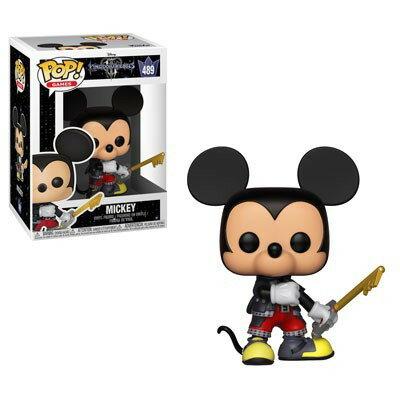 ■予約■[FUNKO(ファンコ)] FUNKO POP! DISNEY: Kingdom Hearts 3 - Mickey <キングダム ハーツ>