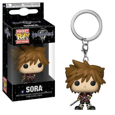 ■予約■[FUNKO(ファンコ)] FUNKO POP! Keychain: DISNEY - Kingdom Hearts 3 - Sora <キングダム ハーツ>