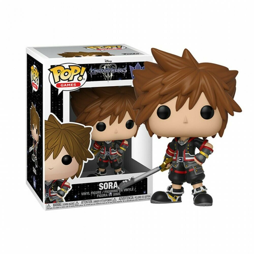 ■[FUNKO(ファンコ)] FUNKO POP! DISNEY: Kingdom Hearts 3 - Sora <キングダム ハーツ>