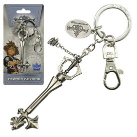 Kingdom Hearts Sleeping Lion Keyblade Pewter Key Ring <キングダム ハーツ キーリング>