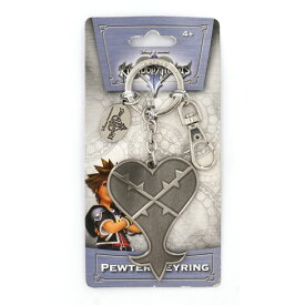 Kingdom Hearts Heartless Pewter Key Ring <キングダム ハーツ キーリング>