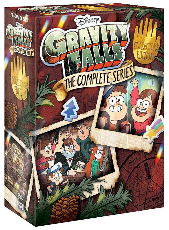■予約■SALE OFF!新品北米版DVD!【怪奇ゾーン グラビティフォールズ 全40話】 Gravity Falls: The Complete Series Collector's Edition [DVD]!