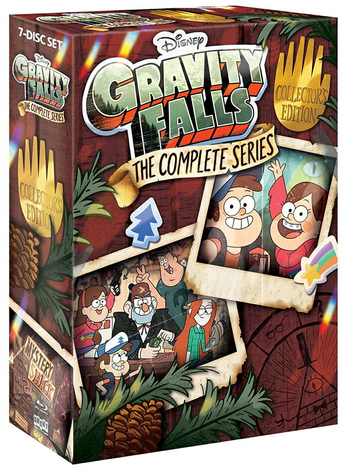 SALE OFF!新品北米版Blu-ray!【怪奇ゾーン グラビティフォールズ 全40話】 Gravity Falls: The Complete Series Collector's Edition [Blu-ray]!