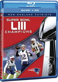 SALE OFF!新品Blu-ray!【NFL第53回スーパーボウル】 NFL Super Bowl 53 Champions - New England Patriots [Blu-ray/DVD]!