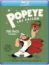 ■予約■新品北米版Blu-ray!【ポパイ 40年代短編アニメコレクションVol.1】 Popeye The Sailor: The 1940s Volume 1 …