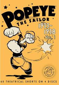新品北米版DVD!【ポパイ 短編アニメコレクション(1933-1938)】 Popeye the Sailor: Volume 1: 1933-1938