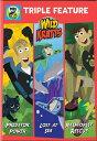 SALE OFF!新品北米版DVD!Wild Kratts: Triple Feature <ワイルド・クラッツ>
