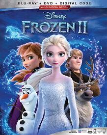 新品北米版Blu-ray!【アナと雪の女王2】 Frozen II [Blu-ray/DVD]!