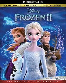 新品北米版4K Ultra HD!【アナと雪の女王2】 Frozen II [4K Ultra HD/Blu-ray]!<日本語音声/日本語字幕付き>