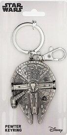 Star Wars Millennium Falcon Pewter Key Ring <スター・ウォーズ/ミレニアム・ファルコン キーリング>