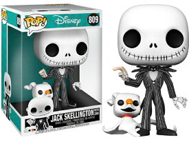 ■予約■[FUNKO(ファンコ)] FUNKO POP! DISNEY: Nightmare Before Christmas - Jack W/ Zero(約25cm) <ナイトメアー・ビフォア・クリスマス>