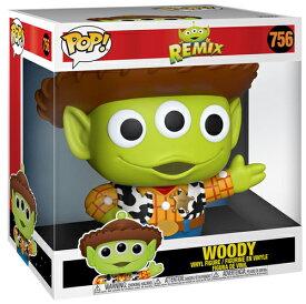 ■[FUNKO(ファンコ)] FUNKO POP! DISNEY: Pixar - Alien as Woody 10''(約25cm) <ピクサー/トイ・ストーリー/エイリアン> スーパーサイズ!