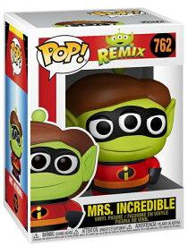■予約■[FUNKO(ファンコ)] FUNKO POP! DISNEY: Pixar Alien - Mrs. Incredible <ピクサー/Mr.インクレディブル/エイリアン>