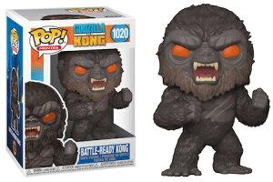 [FUNKO(ファンコ)] FUNKO POP! MOVIES: Godzilla Vs Kong - Battle-Ready Kong <ゴジラvsコング>