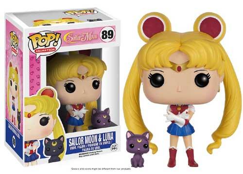 [FUNKO(ファンコ)フィギュア] Funko Pop! Animation: Sailor Moon - Sailor Moon With Luna <セーラームーン>