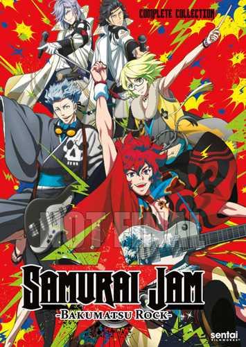 新品北米版DVD!【幕末Rock】 全12話!
