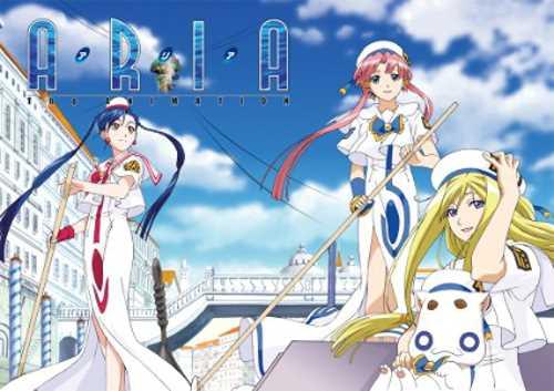 新品北米版DVD! 【ARIA The ANIMATION】 全13話!