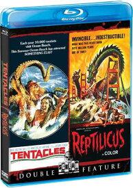 新品北米版Blu-ray!『テンタクルズ』『原始獣レプティリカス』 Tentacles / Reptilicus [Blu-ray]!